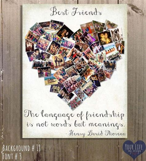 Best Photo Gifts | gift for best friends photo collage gift for sister