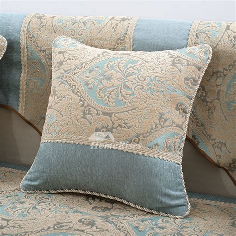 country couch pillows country floral blue velvet throw pillows for couch
