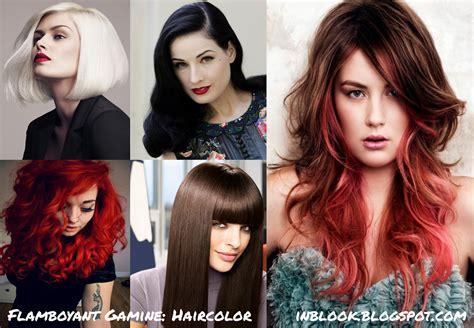 flamboyant gamine hair inblook яркий гамин flamboyant gamine рекомендации