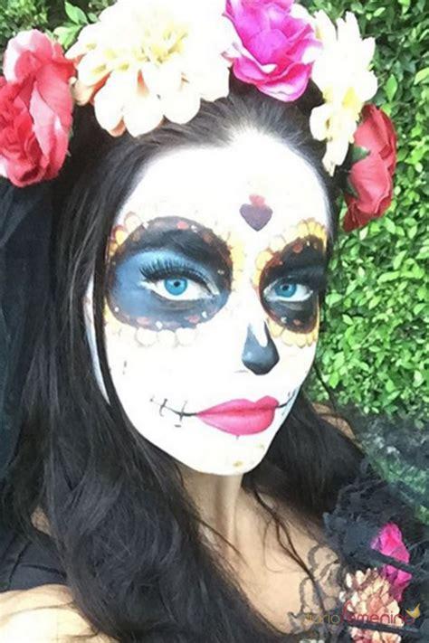 imagenes halloween para la cara halloween adriana lima una catrina muy sexy