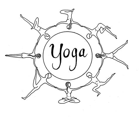 Yogajoylife Hari Om Tat Sat International Tree Coloring Page