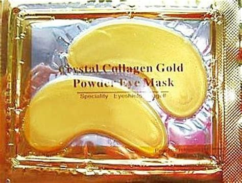 Collagen Gold Powder Mask buy 1 x pack new 24k gold powder gel collagen eye mask masks sheet patch anti ageing