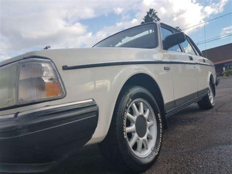 rare 1992 volvo 240gl 5 speed manual 244 240 gl classic volvo 240 1992 for sale