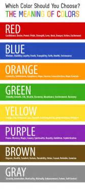color of means the meaning of colors color chart graphicdesign colors