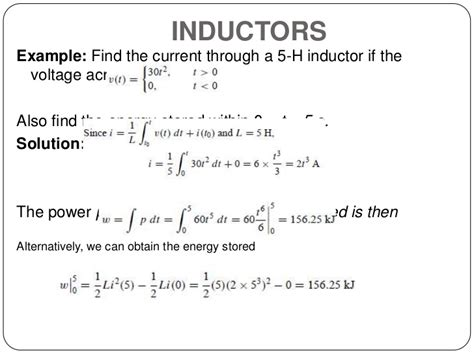the current through an inductor current through ideal inductor 28 images circuit theory 1 finals understanding switching
