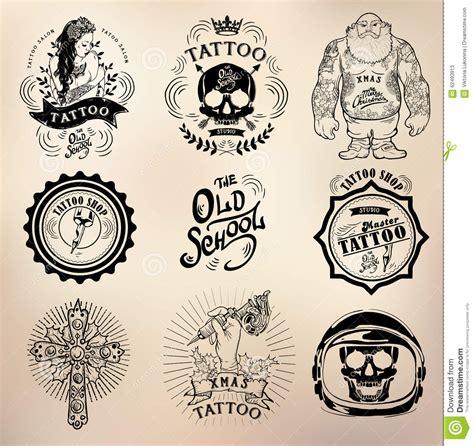 Tattoo Old School Logo | tattoo old school studio skull stock vector image 62493913