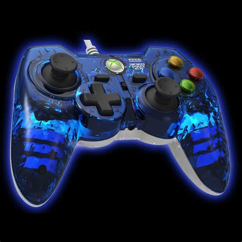 Gamis Blue Saphire hori xbox 360 gem pad ex sapphire blue