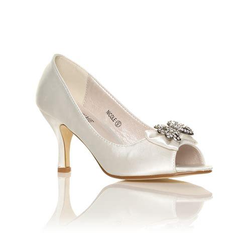 Mid Heel Wedding Shoes mid heel bridal sandals low heel sandals