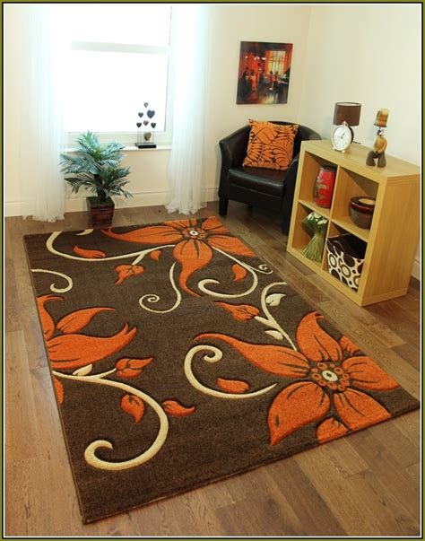 burnt orange and chocolate area rugs home design ideas