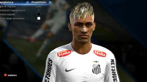 hair make pes 13 pes 2013 neymar new face edit install doovi