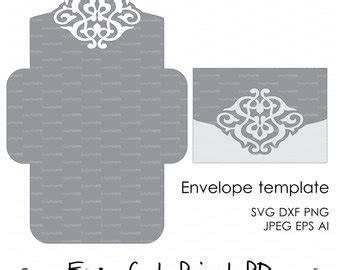 Silhouette Cameo Card Templates by Floral Wreath Lace Wedding Invitation Pattern Card 5x7