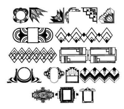 design motif font 1000 images about project art deco on pinterest art