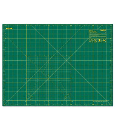Fabric Cutting Mat by Olfa Gridded Cutting Mat 18 X 24 Jo