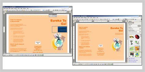 design leaflet using microsoft word 15 professional brochure design tutorials uprinting