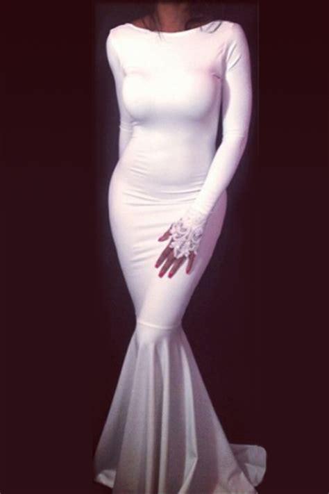 Mermaid Floor L by Cheap White Dress Mermaid Floor Dresses