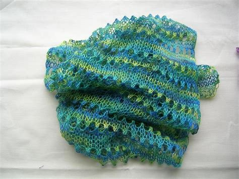 knitting pattern for scarf 8 ply simple lacy scarf for beginners knitting pattern by rosie