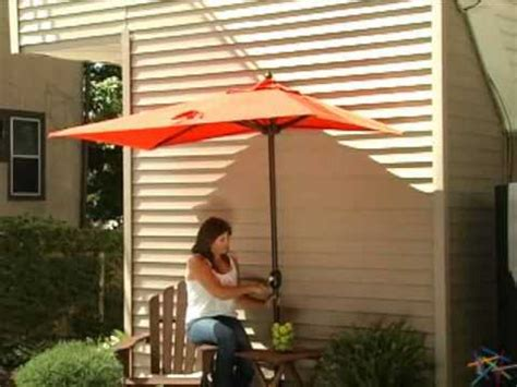 half patio umbrella the better half patio umbrella product review