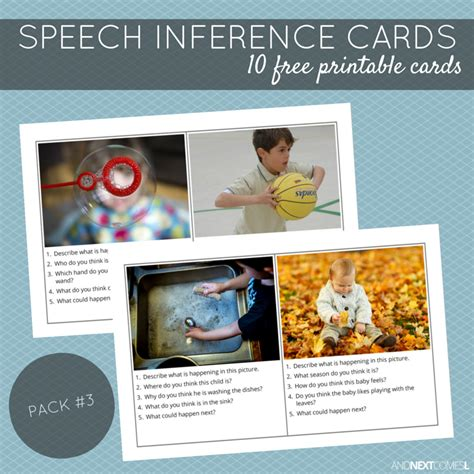 printable inference games free printable speech inference cards pack 3 and next