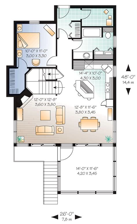 home design 15 x 30 10x10x10 tiny house plans