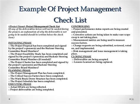 a repeatable project management methodology