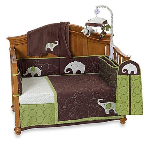 Green Elephant Crib Bedding S 174 Green Elephant Crib Bedding Accessories Bed Bath Beyond