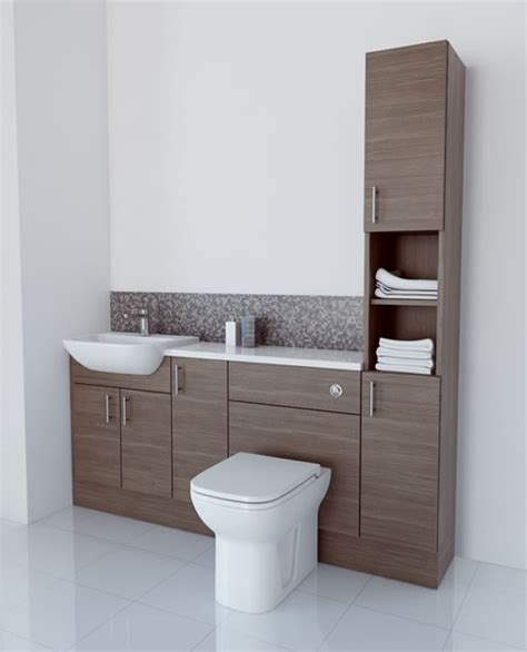 Brown Bathroom Furniture Bathcabz Bathroom Fitted Furniture Products Fitted Furniture 1800mm Grey Brown Furniture