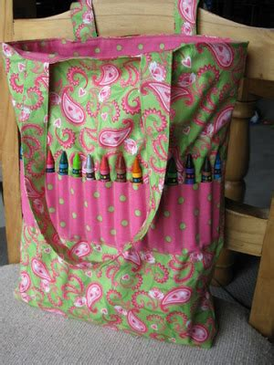 pattern for crayon tote bag so simply stephanie tutorial crayon tote