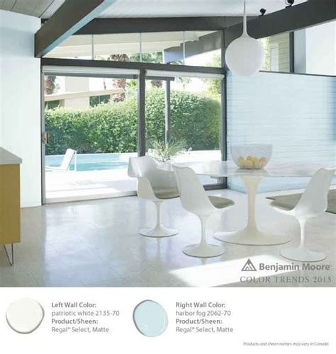 harbor fog from benjamin s regal select waterborne interior paint is the shade for