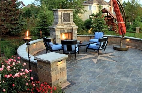 Fireplace In Garden by Fireplace In The Garden Construction 24 Ideas For A