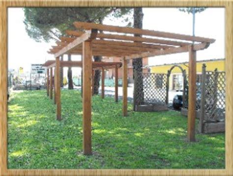 obi tettoie pergole legno roma