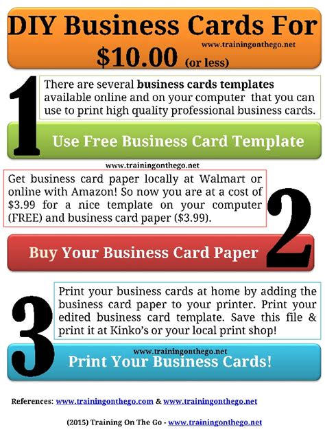 Gallery of printing diy business cards at home for 10 2177 print printing diy business cards at home for 10 fbccfo Choice Image