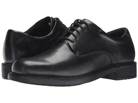 mens dress oxford shoes rockport margin mens black k71224 leather lace up comfort