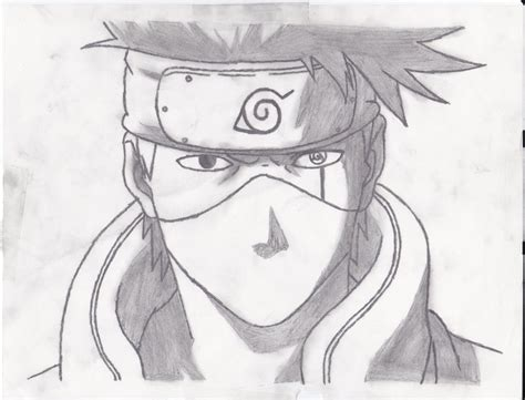 Drawing Kakashi by Kakashi Hatake By Grimstnzborith On Deviantart