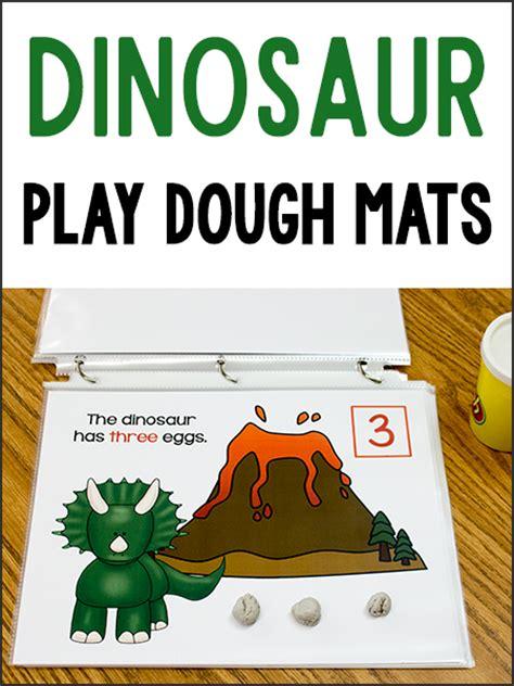 playdough mats booklet entire booklet printable dinosaur play dough mats prekinders