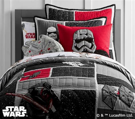 pottery barn star wars bedding star wars the force awakens quilted bedding pottery