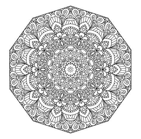 mandala coloring book fabulous designs to make your own free printable floral mandala coloring page the open