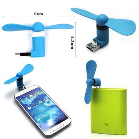 fan that plugs into phone 2 in 1 plug play usb android smart phone fan