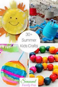 Kids Craft Summer - 30 fun summer crafts for kids