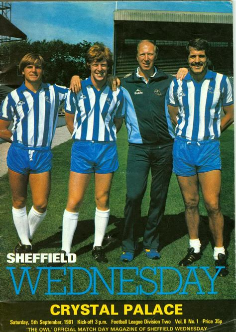 Football Everydays sheffield wednesday team of 1981 82 sheffield wednesday