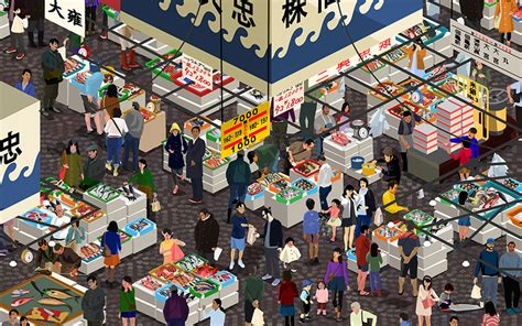 design art market odlco presents marketplace posters by jingyao guo