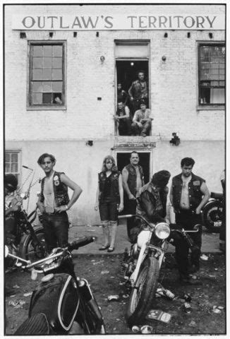 Cool riders: on the road with outlaw biker gangs in the