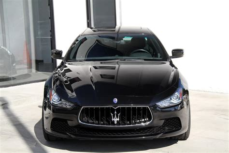 black maserati ghibli 2014 maserati ghibli stock 5996 for sale near redondo