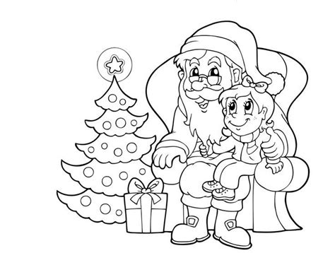santa coloring sheets santa claus coloring pages pictures images photos