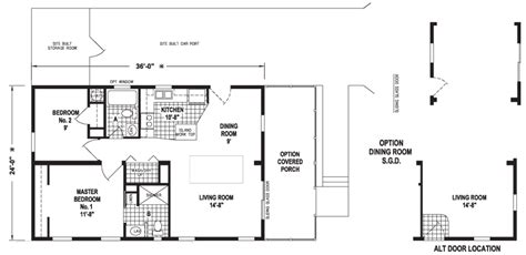mobile home floor plans florida hallandale 24 x 36 864 sqft mobile home factory expo