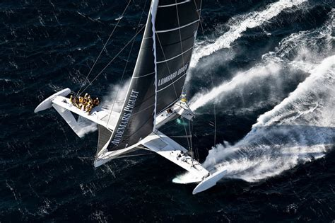 trimaran world speed record hydroptere sailboat to set transpacific fastest speed record