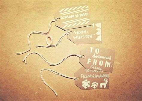printable christmas tags martha stewart 147 best images about diy with martha stewart on pinterest