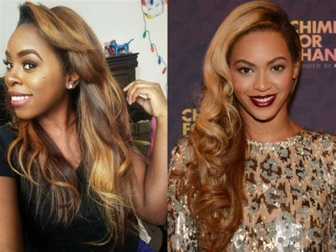 beyonce favorite color how to dye your hair like beyonc 233 highlights