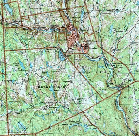 west canaan texas map wayne county pennsylvania township maps