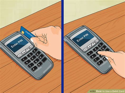 how to make credit card payment through atm how to use a debit card 8 steps with pictures wikihow