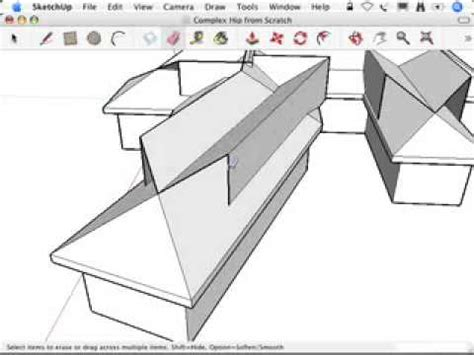 Complex Hip Roof Sketchup Hip Roofs